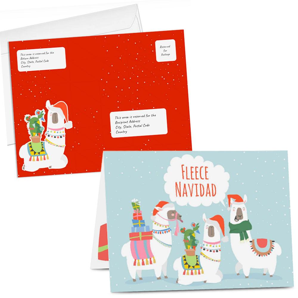 5x7 Greeting Card w/ Custom Envelope