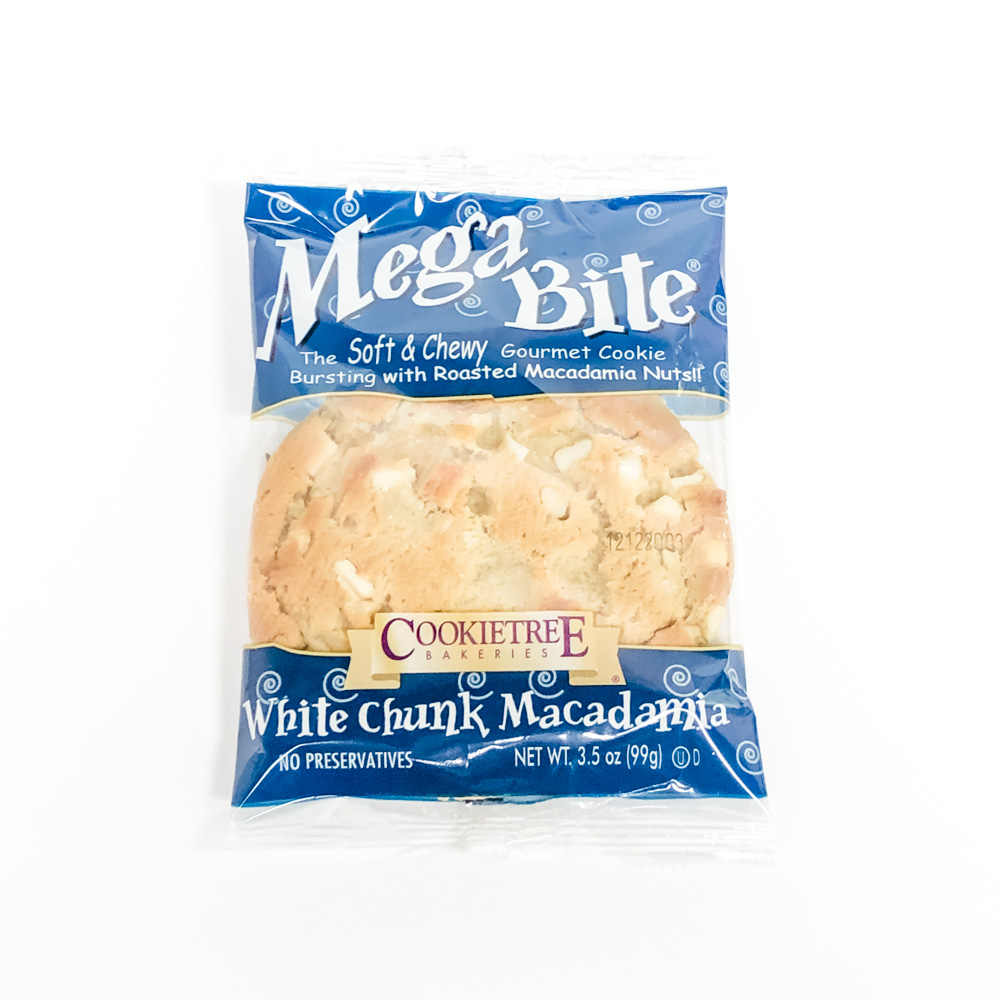 Mega Bite White Chunk Macadamia